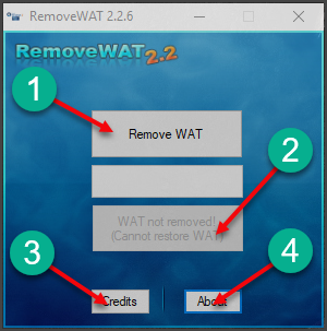 removewat exe for windows 7