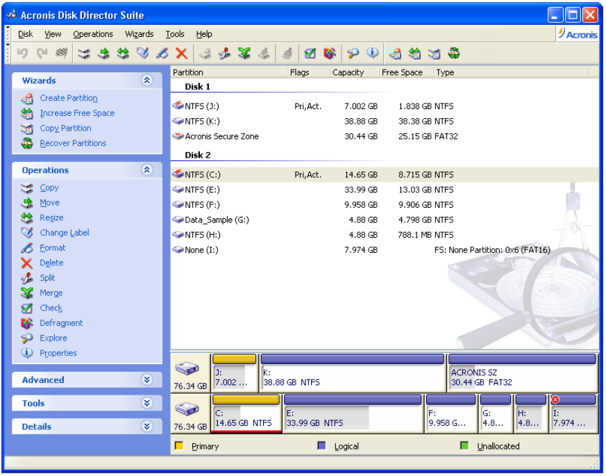 Acronis Disk Director Portable Rus 2021