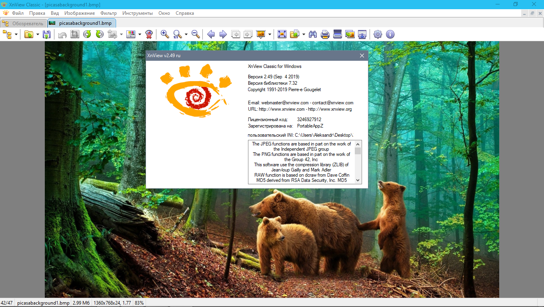XnView 2.49.4 русская версия 2021