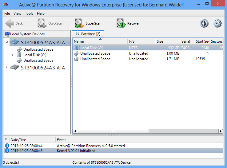 Active Partition Recovery Pro 21.0.1 на русском