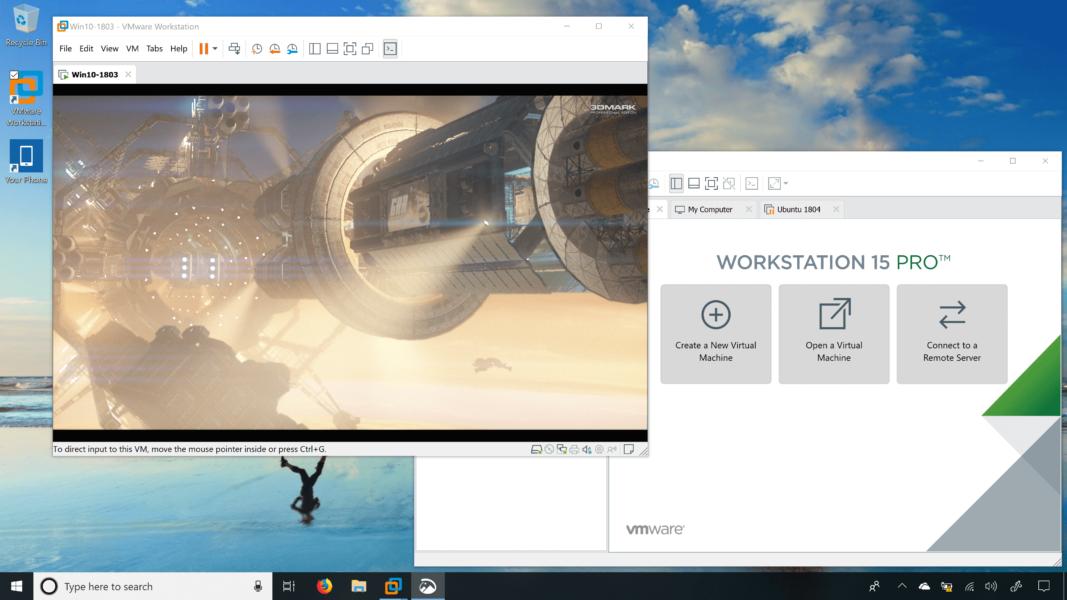 VMware Player 16.1.0 на русском для Windows 10