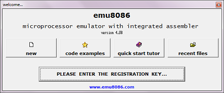 EMU8086 на Windows