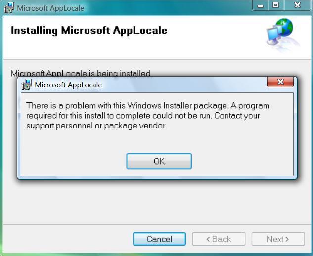 AppLocale для Windows 10