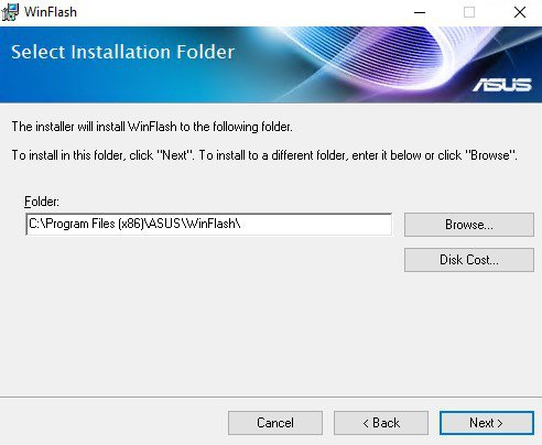 ASUS WinFlash