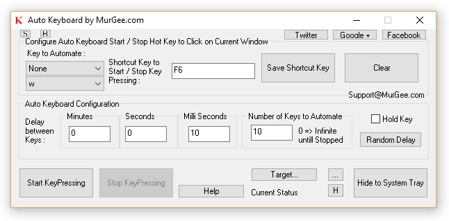 KeyBoard AutoClicker