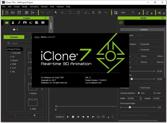 iClone 7 Pro