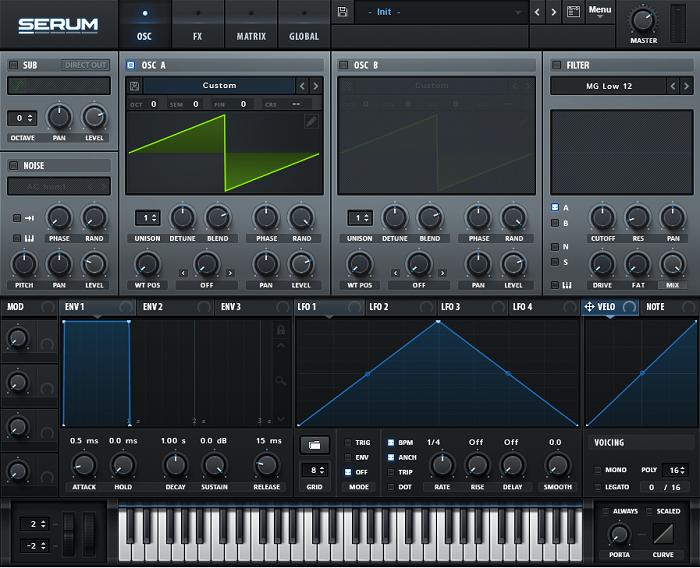 Serum плагин для FL Studio 20